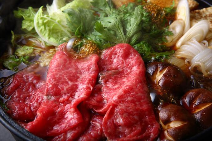 すき焼き用赤身肉