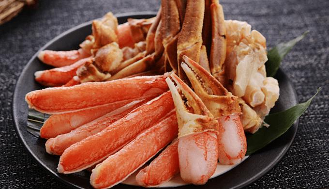 定番ロングセラーのズワイ蟹しゃぶ